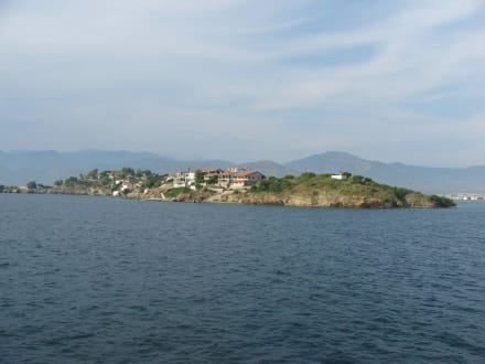Die Insel Sovalye - Bootstour Fethiye