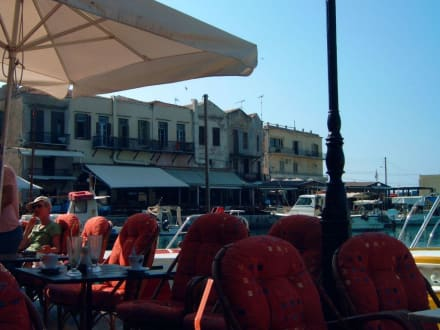 Venezianischer hafen - Hafen Rethymno