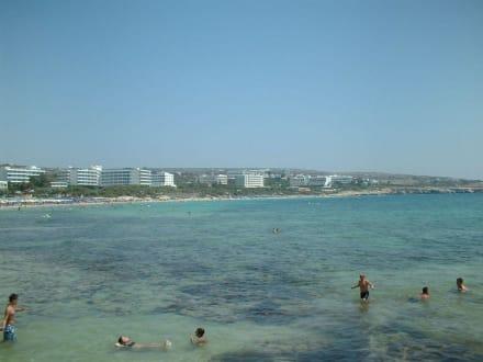Sandy Beach - Strand Ayia Napa/Agia Napa