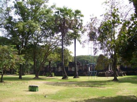 Tempelgelände - Khmer Tempel
