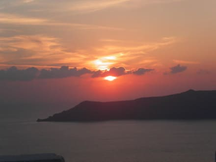 Untergang 5 - Sonnenuntergänge in Firostefani