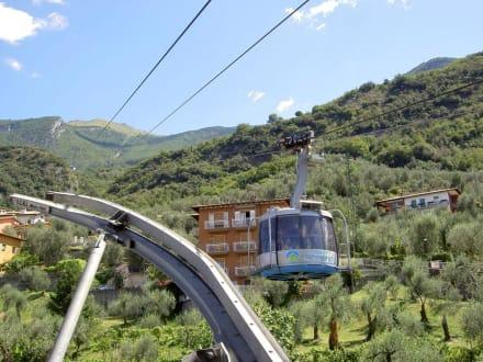 Seilbahn auf den Monte Baldo - Seilbahn Malcesine - Monte Baldo