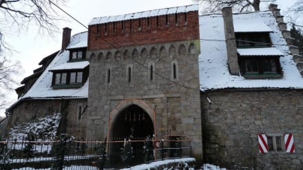 Das Tor zum Schloss Egg - Schloss Egg