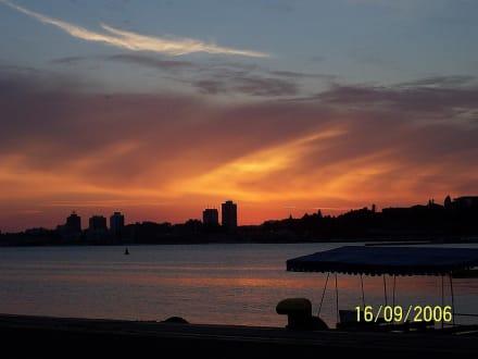 Sonnenuntergang - Nessebar Umgebung