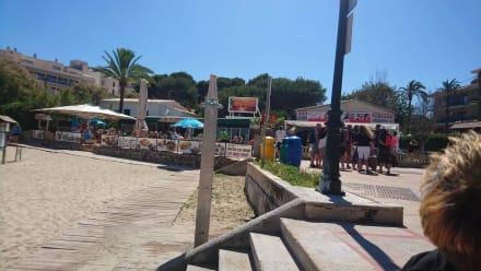 Zugang zum Beach - Cala Son Moll