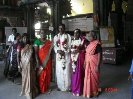 Hindu Hochzeit - Colombo