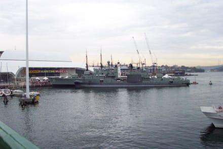 Blick auf das Museum - National Maritime Museum