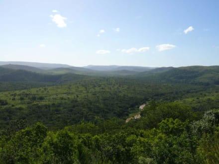Landschaft im Hluhluwe Game Reserve - Hluhluwe Game Reserve