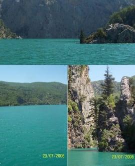 Eindrücke des Green Canyon - Oymapinar Baraji/ Stausee Green Lake & Green Canyon