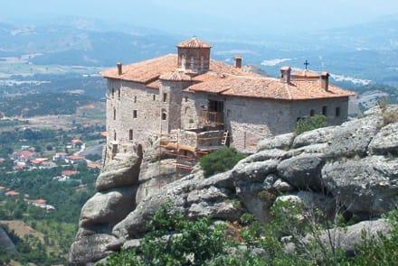 Kloster der heiligen Barbara - Meteora Klöster