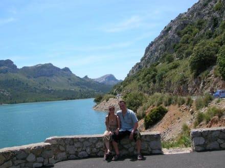 Stausee auf dem Weg nach Sóller - Wandern