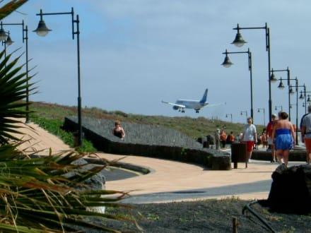 Flug über die Playa de Matagorda - Playa de Matagorda