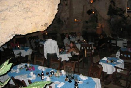Restaurant Innenraum - Restaurant Ali Barbour & Beachbar Forty Thieves