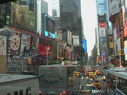 Blick auf den Times Square - Times Square
