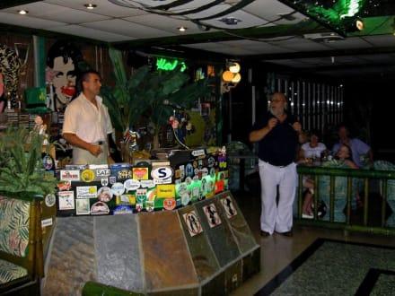Karaoke bei ,,DON'' Pedro - La Terraza - Tanz-Cafe by Pedro