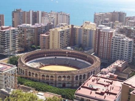 Stierkampf-Arena von Malaga - Plaza de Toros