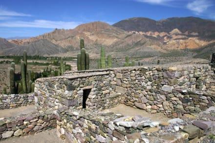 Ruinen von Tilcara - Inka-Festung (Pucara) bei Tilcara