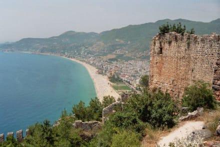 Ein schöner Ausblick - Burg von Alanya  (Ic Kale)