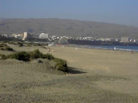 Später Nachmittag am Strand von PdI - Strand Playa del Ingles
