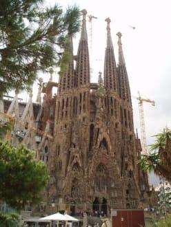 Weihnachtsfassade - Sagrada Familia