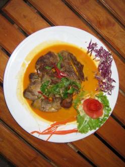 Ente gebraten mit Curry/Kokosmilch-Soße! - Secondhome