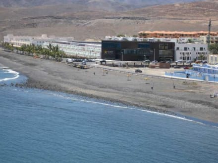 Bilder tarajalejo ansicht vom berg aus in fuerteventura for Hotel design r2 bahia playa 4 fuerteventura