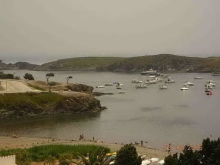 Blick auf die Bucht / Dali Haus - Haus von Dali in Port Lligat