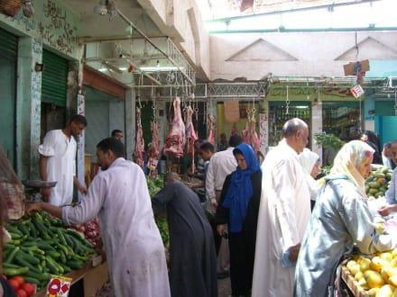 Der Einheimischen Markt von Hurghada - Bazar