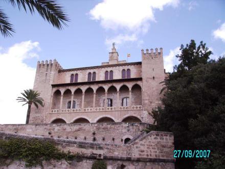 Teilansicht (vom Meerespark) - Königspalast L'Almudaina