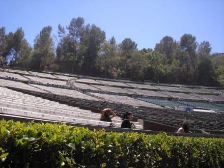 Die Sitzreihen - Hollywood Bowl