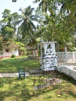Tempel in Habaraduwa - Koggala See