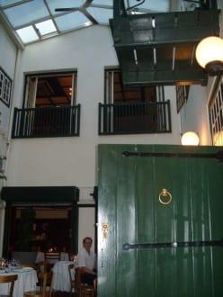 Der Innenhof - Restaurant Five Flies