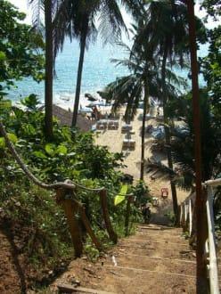 Steiler Weg... - Laem Sing Beach
