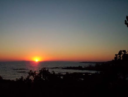 Sonnenuntergang - Grillpark Avsallar