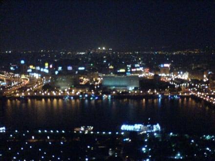 Kairo bei Nacht - Nil