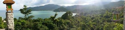 Ausblick - Santhiya Koh Phangan Resort & Spa