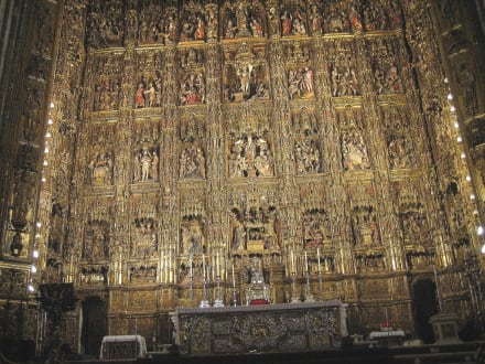 Hochaltar der Capilla Mayor - Kathedrale von Sevilla
