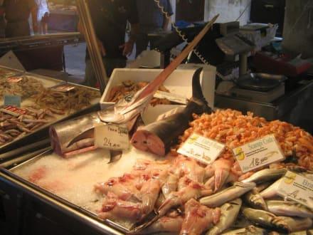 Frischer Säge-Fisch - Rialto Markt