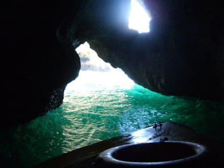 Grottenfahrt - Ponta da Piedade
