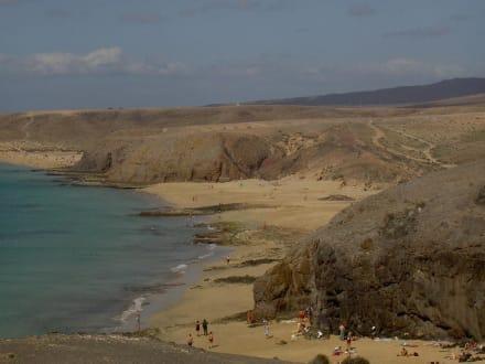 Vulkanausbruch Lanzarote - Playa de Papagayo