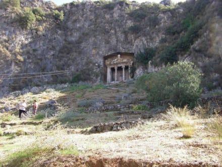 Amyntas Grabmal in Fethiye - Lykische Felsengräber von Fethiye