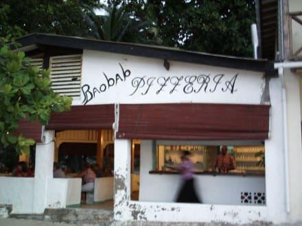 """Pizzeria """"Baobab"""" - Essen & Trinken"""