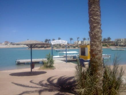 Shuttle-Boot - Lagunenfahrt durch El Gouna