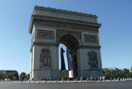 Denkmal - Arc de Triomphe  / Triumphbogen