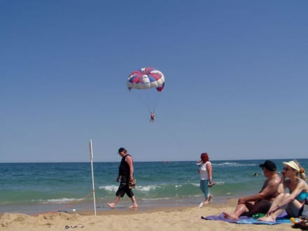 Sonne, Strand, Meer und Spaß - Strand Goldstrand