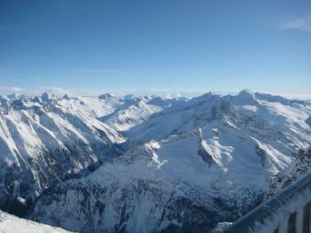 Aussicht vom Hintertuxer Gletscher - Hintertuxer Gletscher