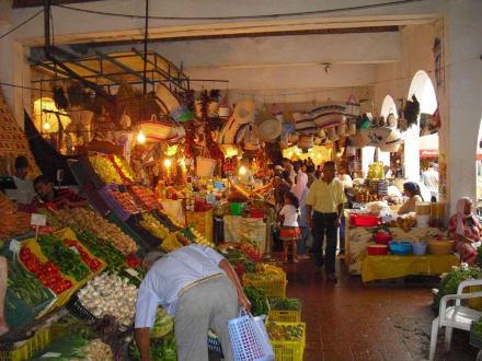 Markt - Kamelmarkt Nabeul