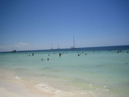 weißer Strand Playa Blanco - Strand Cayo Blanco