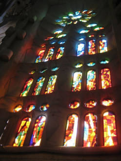 Kirchenfenster - Sagrada Familia