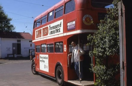 Londoner Doppeldecker-Bus - Museum of Transport and Technology